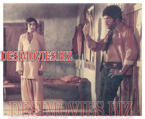 Black Mail (1985)  Lollywood Lobby Card Still & Full Page Advert