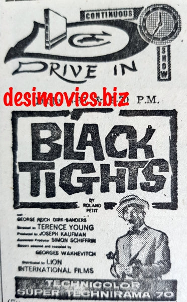 Black Tights (1961) Press Advert (1967)
