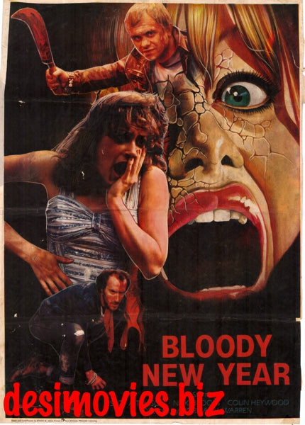 Bloody New Year  (1987)  (Pakistani) Original Poster