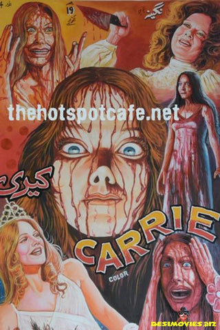 Carrie (1976) Hand Painted Original Cinema Poster