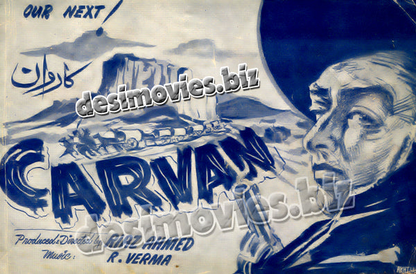 Carvan (1965) unreleased movie Booklet