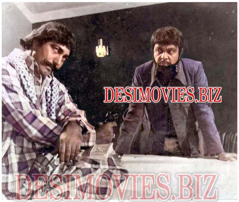 Chalaan (1979) Lollywood Lobby Card Still 4