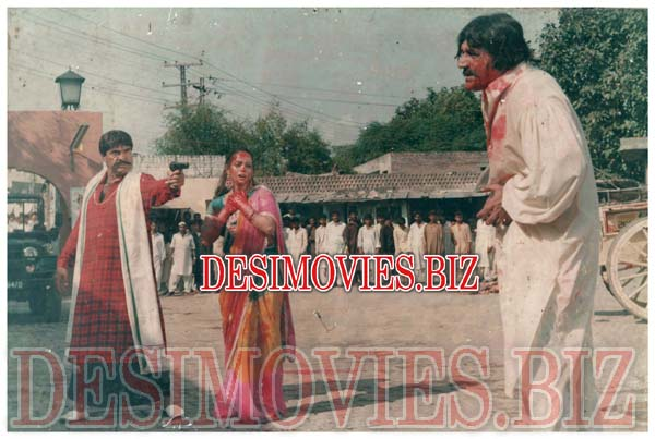 Chaudhri Badshah (1995) Lollywood Lobby Card Still