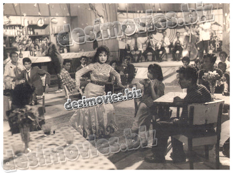 Daal Mein Kala (1962) Lollywood Lobby Card Still