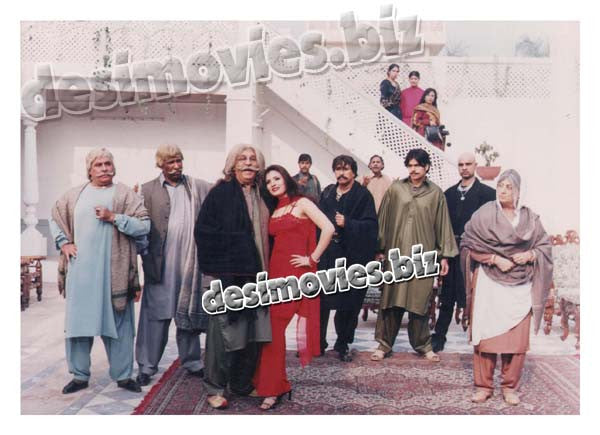 Dada Badmash (2002) Lollywood Lobby Card Still 2