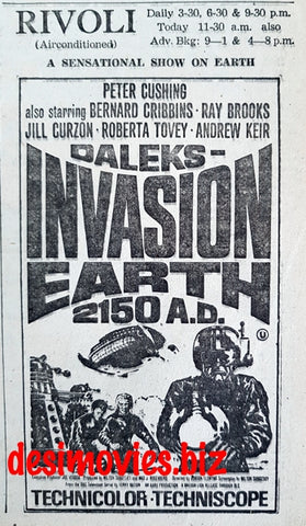 Daleks - Invasion Earth 2150 A.D. (1966) Press Advert (1967)