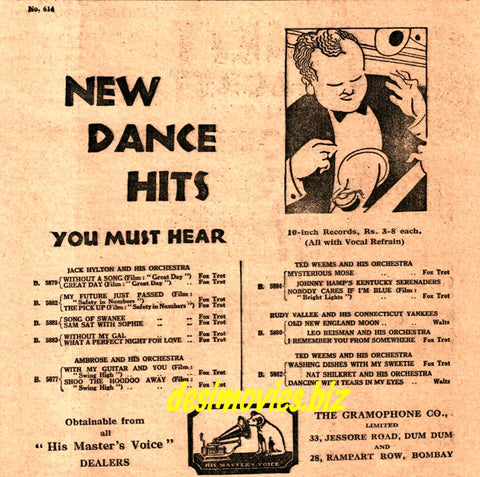 Top of The Pops!  Dance Hits from 1931