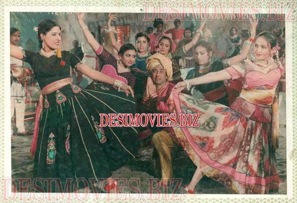 Deewanay Do (1985) Lollywood Lobby Card Still 2