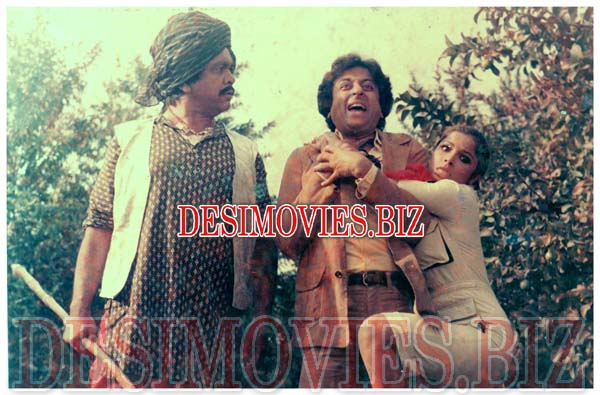 Deewanay Do (1985) Lollywood Lobby Card Still 3