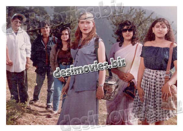 Dil Kisi Ka Dost Nahin (1997)   Lollywood Lobby Card Still 1