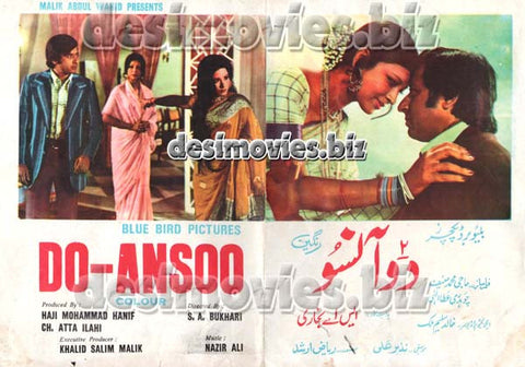 Do Aansoo (1976) Lollywood Original Booklet