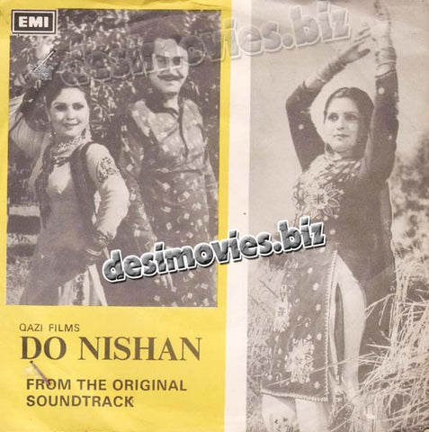 Do Nishan (1980) - 45 Cover