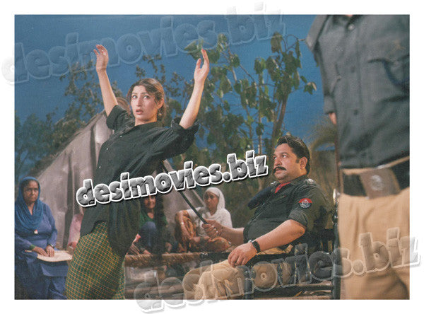 Dopatta Jal Raha Hai (1998) Lollywood Lobby Card Still 4