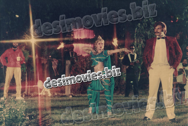 Dushmanon key Dushman (1989) Lollywood Lobby Card Still 4