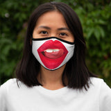 Hot Lips - Fitted Polyester Face Mask