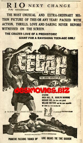 Eegah! (1962) Press Advert
