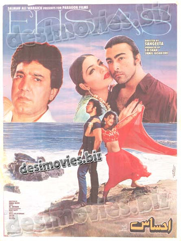 Ehsas (1998) Lollywood Original Poster