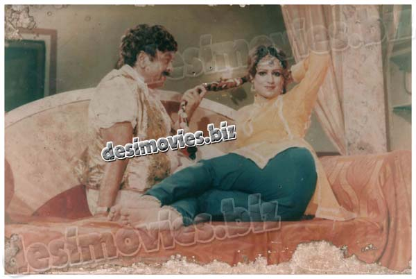 Ik Doli (1982) Lollywood Lobby Card Still 3
