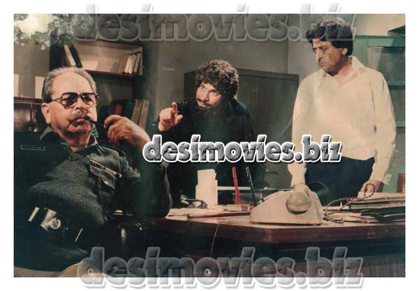 Faisla (1986) Lollywood Lobby Card Still 11