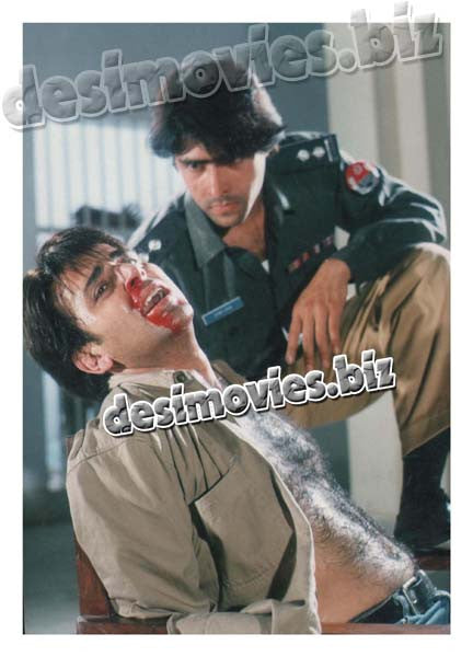 Ghaddar (1999) Lollywood Lobby Card Still 3