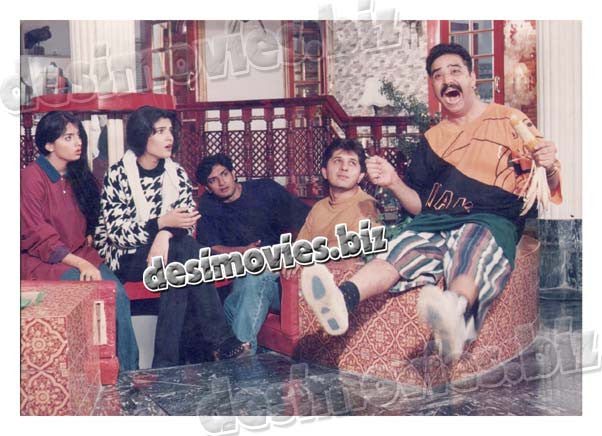 Ghoonghat  (1996) Lollywood Lobby Card Still 4