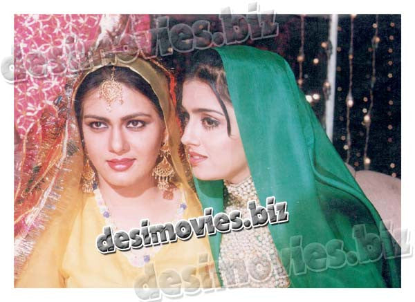 Ghoonghat  (1996) Lollywood Lobby Card Still 2