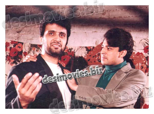 Gustakh Akhian (1999) Lollywood Lobby Card Still 4