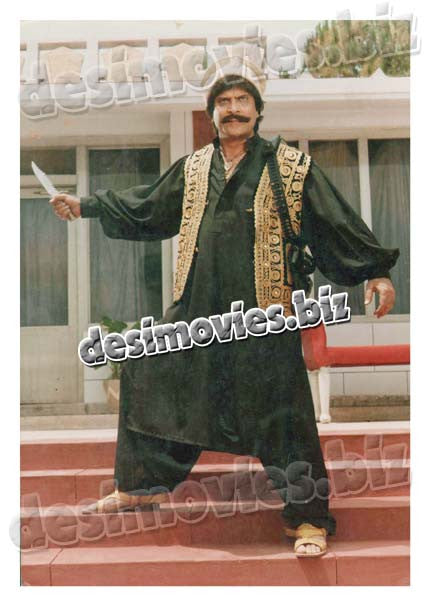 Hathiyara (1999) Lollywood Lobby Card Still 2