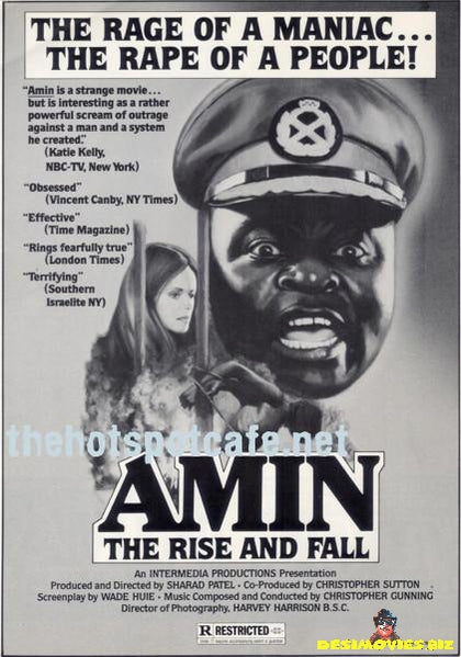 Amin; The Rise and Fall (1979) - Press Kit Poster