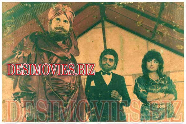 Insaniyat Ke Dushman (1990) Lollywood Lobby Card Still 7