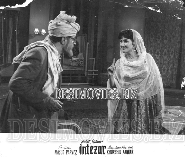 Intezar (1956) Lobby Card Still