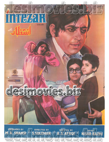 Intezar (1974) Lollywood Original Poster A