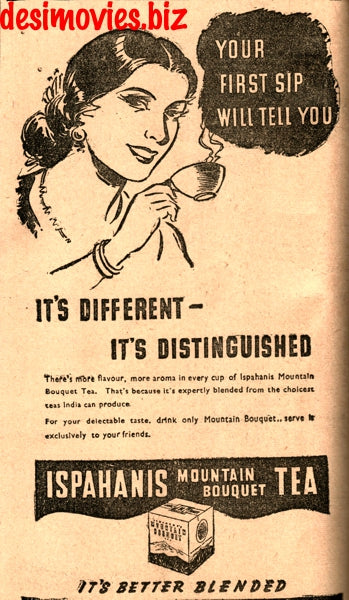 Ispahani Tea (1947) Press Advert 1947 -2
