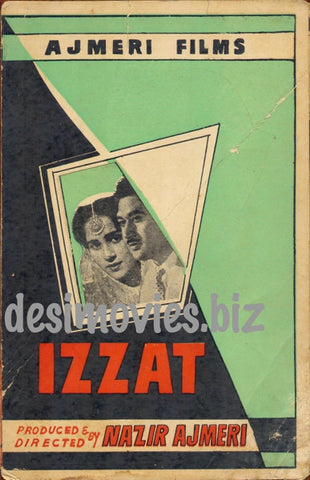 Izzat (1960)  Lollywood Original Booklet