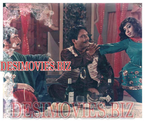 Japani Guddi (1972) Lollywood Lobby Card Still 9