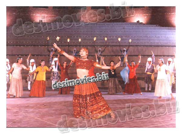 Jazba (1999) Lollywood Lobby Card Still 1