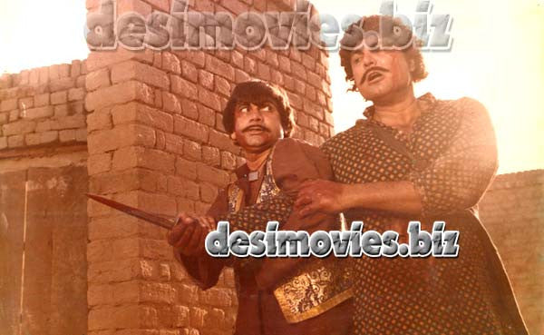 Jhagra (1980) Lollywood Lobby Card Still  B