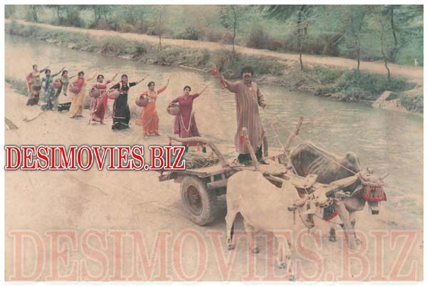 Kufara (1980) Lollywood Lobby Card Still