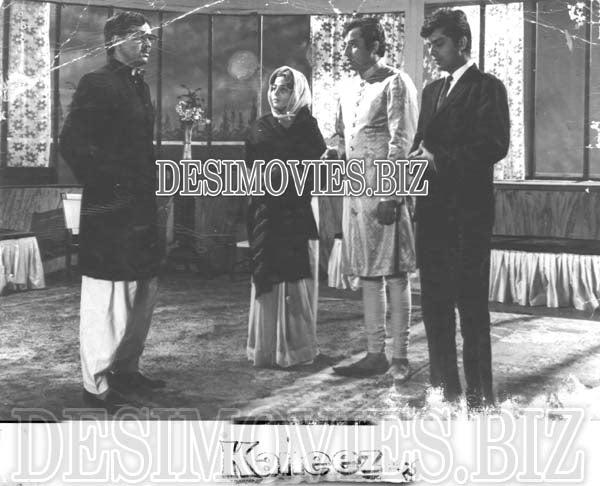 Kaneez (1965) Lollywood Lobby Card Still