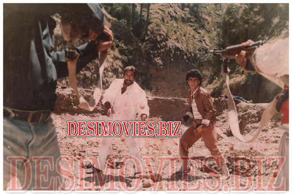 Kiraye key Qatil (1990) Lollywood Lobby Card Still 9