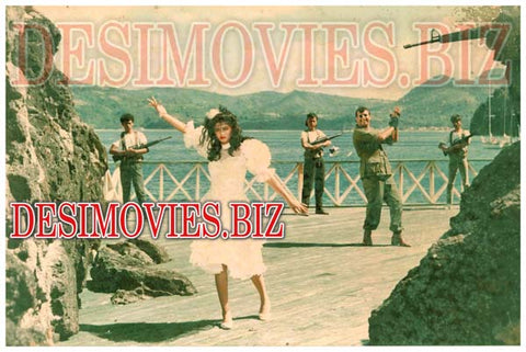 Lady Smuggler (1987) Lollywood Lobby Card Still