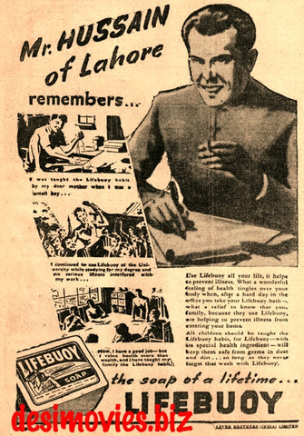 Lifebuoy Soap (1947) Press Advert 1947