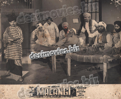 Malangi (1965) Lollywood Lobby Card Still 3