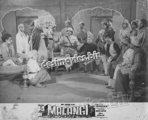 Malangi (1965) Lollywood Lobby Card Still