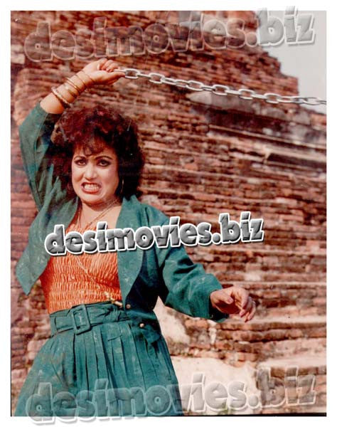 Manila Ke Janbaaz (1989)  Lollywood Lobby Card Still 14