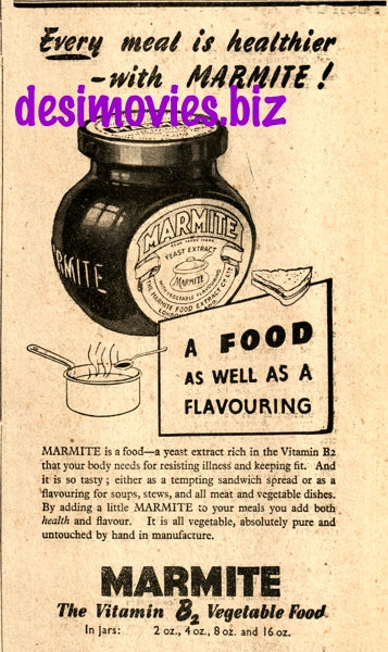 Marmite (1947) Press Advert 1947