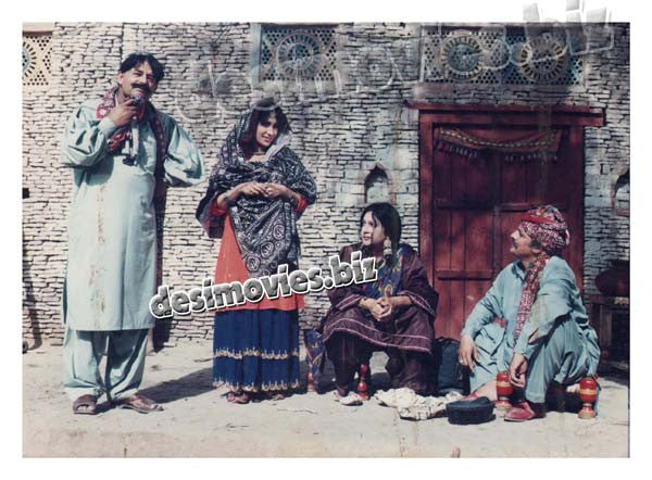 Marvi (2000) Lollywood Lobby Card Still 4