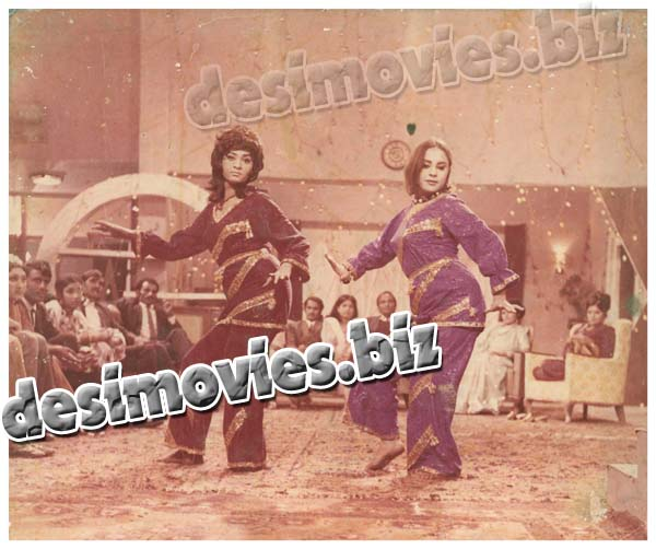 Mehboob Mera Mastana (1976) Lollywood Lobby Card Still 1