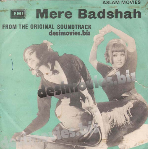 Meray Badshah (1977) - 45 Cover