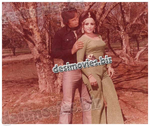 Mout Meri Zindagi (1979) Lollywood Film Lobby Card Still-03